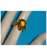 Technibond Created Yellow Sapphire Pear Shaped ... - $49.97