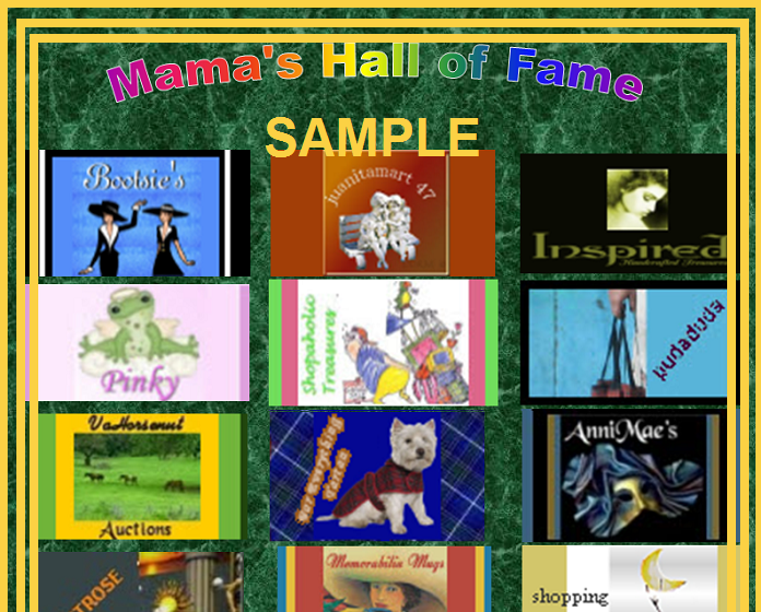 RENT-A-PANEL - Mama's Stuff Hall of Fame - Booth Promotions