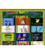 RENT-A-PANEL - Mama's Stuff Hall of Fame - Booth Promotions - $7.00