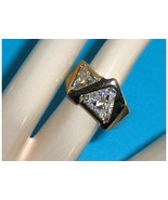 Technibond Simulated Diamond CZ Ring Size 8 - $39.97