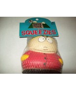 FREE SHIP cartman south park squeezie stress reliever new in bag with tag 3.5