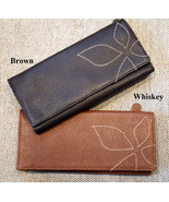 NeW SOFT LEATHER LADIES WOMEN CLUTCH WALLET L@@K!  - $23.99