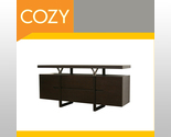 Buy Buffets & Sideboards - Danish Modern Sideboard Buffet Credenza Storage Cabinet
