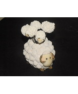 Vintage Party Picks Ewe And Her Lambs White Nub... - $7.99