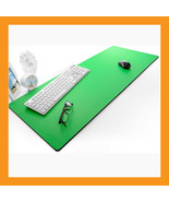"green extra large desk mouse pad 37 x 15"" neopr... - $49.00"