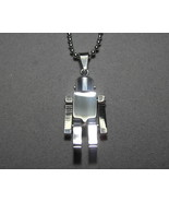 Stainless Steel Robot pendant with 19.5