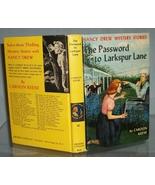 Nancy Drew #10 The Password to Larkspur Lane 1s... - $19.99