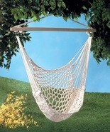 Hammock Swing Chair Indoor Or Outdoor - $27.00