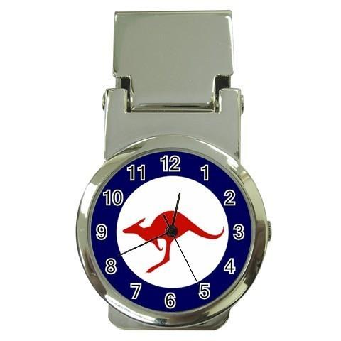 RAAF Royal Australian Air Force New Money Clip Watch