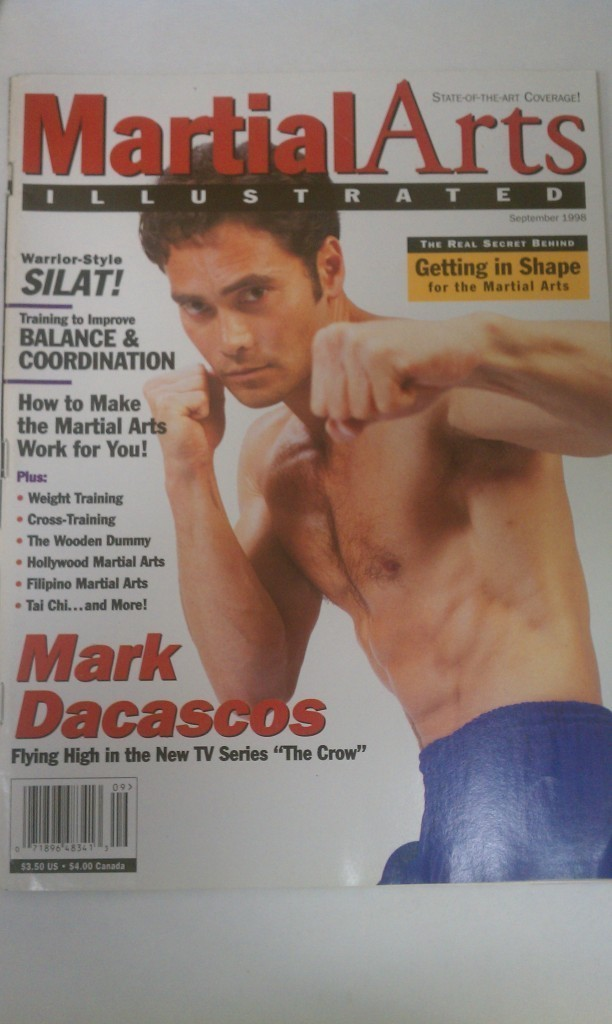 Martial Arts Illustrated Magazine Mark Dacascos September 1998