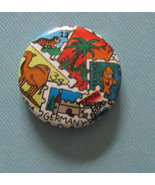 American Girl grin pin #272 Travel stamps AG pi... - $0.99