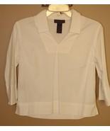 Ralph Lauren Cotton Blouse size Med - $9.95