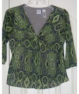 Emma James Blouse Size Large - $8.95