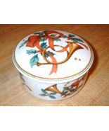 MIKASA Porcelain Christmas Box JUBILATION HK503 - $19.99