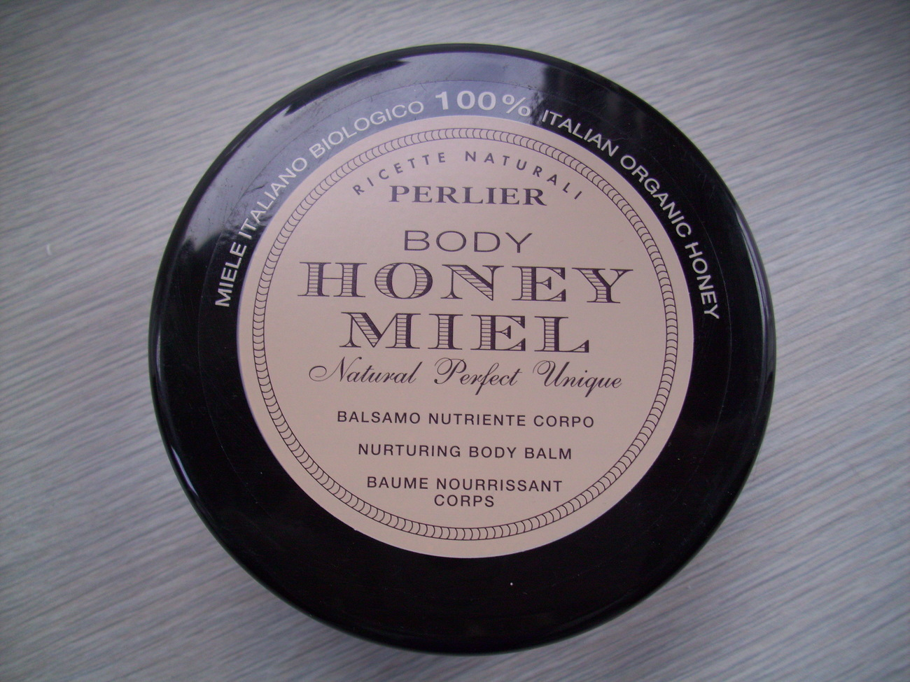 PERLIER BODY HONEY MIEL NURTURING BODY BALM
