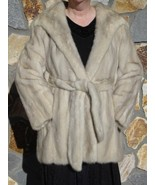 Make her winter  Genuine Mink Toumaline Champagne Jacket sz   Mint Luxury Fur