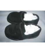 Osh Kosh Girls Navy Blue Suade Shoes Loafer Lea... - $12.99