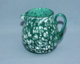 Mottle_green_blown_glass_pitcher__thumb200