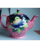 Tea pot Maling NewCastle on Tyne  peona rose pa... - $30.00
