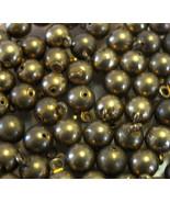 50 Vintage Brass Balls Dangles Charms Drops Ste... - $10.00