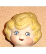 Antique  Betty Boop Type Bisque Doll  Large Sid... - $16.50