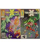 2 X TERMINATORS Marvel Comics pages of X-Factor... - $3.00