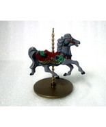 Holly Christmas Carousel Horse Series 1989 Hall... - $9.99