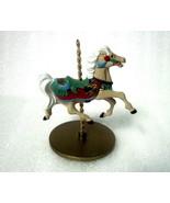 Ginger Christmas Carousel Horse Hallmark Orname... - $9.99