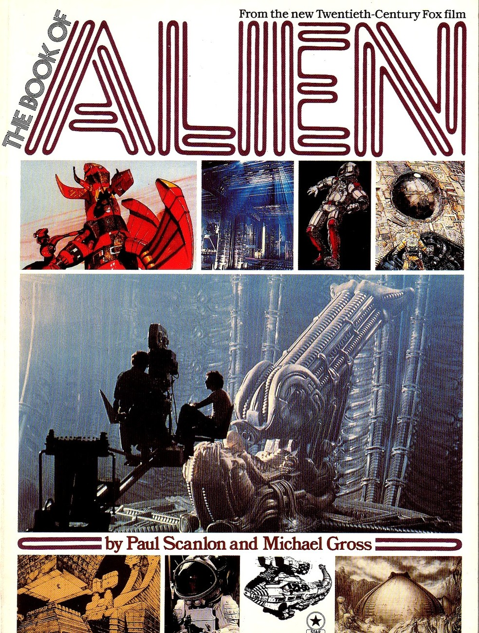 The Book of Alien New Twentieth Century Fox Films - Paul Scanlon Michael Gross