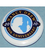 Nancy Drew 80th Anniversary Pin Button FREE w/p... - $0.00