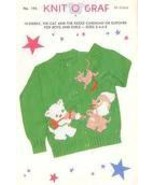 1950's KNIT-O-Graf Cat & The FIddle+ CowJumped ... - $9.99