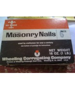 1 lb. Hardened Masonry Nails 2