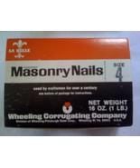 1 lb. Hardened Masonry Nails 1.5