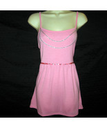 Pink with Removable Chain Tie Back Top Jr Plus 2XL - $5.99