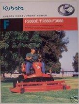 2005 Kubota F2880E, F2880, F3680 Front Mowers B... - $8.00
