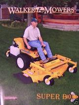 2007 Walker Super B Front Mower Brochure - $6.00