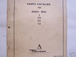 Allis Chalmers Mowbee 5, 526, 532, 732 Mowers P... - $10.00