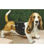 Intrada Basset Hound Dog Figurine Italian 19