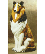 Intrada Collie Dog Figurine Made in Italy 35