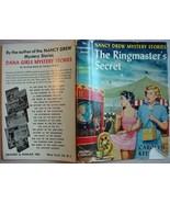 Nancy Drew THE RINGMASTER'S SECRET hcdj 1959D-1... - $16.00
