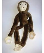 Wildlife Artists Plush Hanging Monkey Brown Tan... - $15.88
