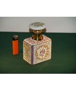 An Antique Capodimonte Porcelain Tea Caddy. - $160.00