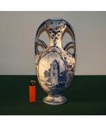 Antique Delftware Vase. - $95.00