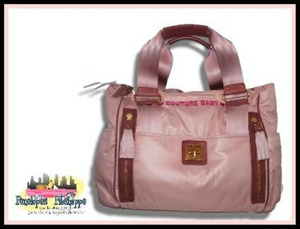 NWT JUICY COUTURE BABY DIAPER BAG PINK YHRU1855