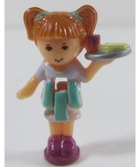 1993 Polly Pocket Dolls Pizzeria - Kelly