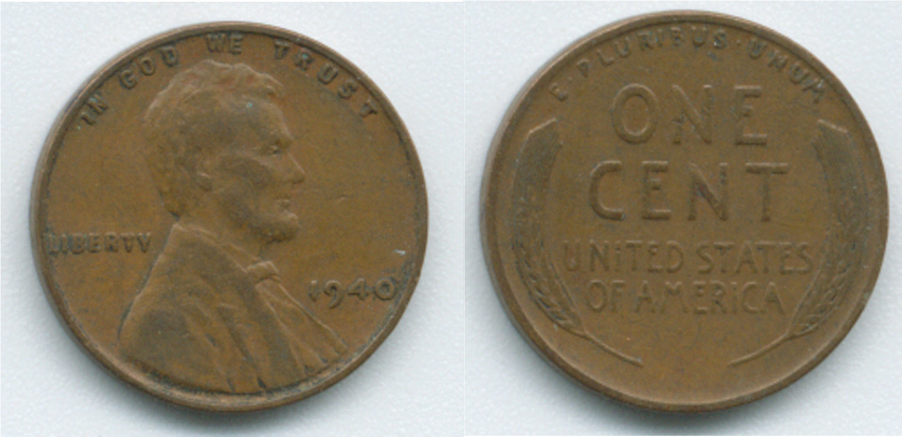 P76 - 1942 Lincoln Wheat Penny - 1940-49