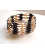 Magnetic Hematite Freshwater Pearls Bracelet Ne... - $6.95