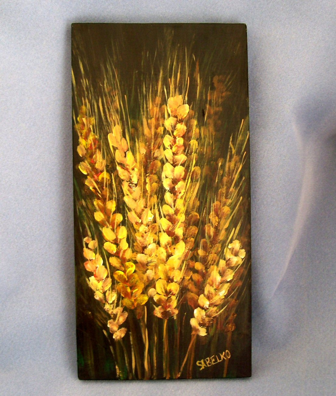 Wheat Study Original Painting
