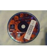 Playstation 1 PS1 - WWF Attitude - $1.39