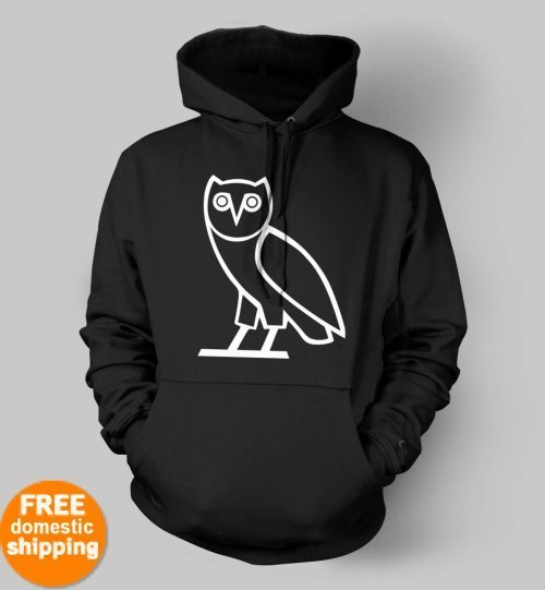 OVO Drake October's very own white owl Hoodie OVOxo hooded sweatshirt sweater